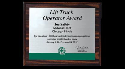 Lift Truck Operator