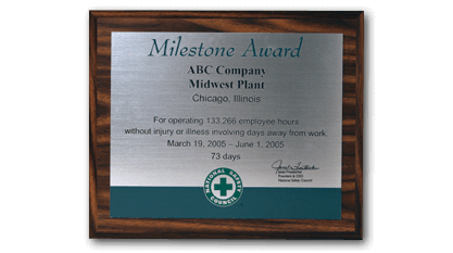 Milestone Award