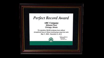 workplace safety awards